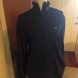 Lacoste Black sweatshirt